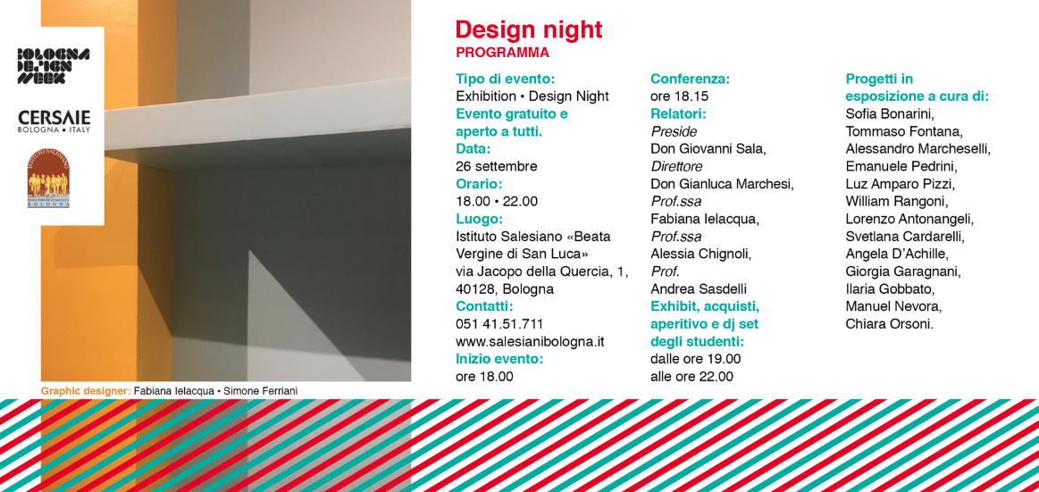 Salesiani Bologna - Bologna Design Week -2